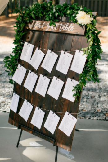 place card decorating ideas
