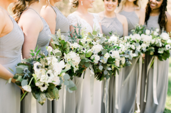 hiring florists for your wedding