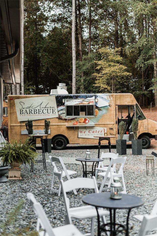 food truck at the butterfly pavilion