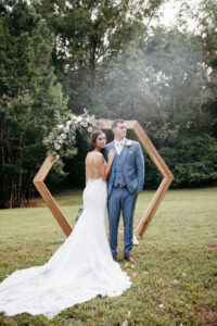 spring wedding at the butterfly pavilion