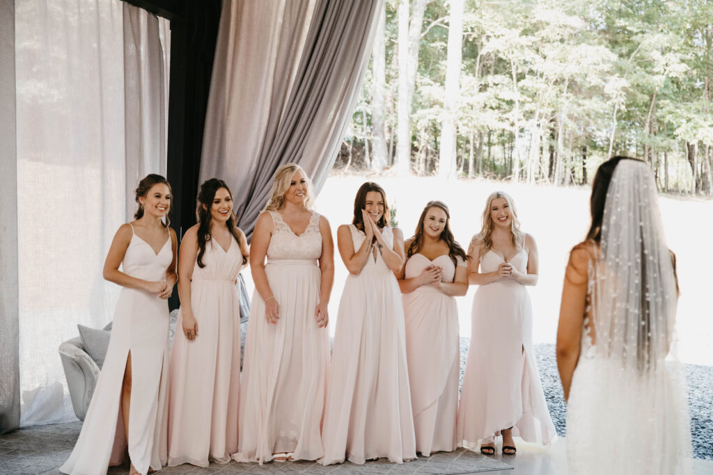 bridesmaid experience